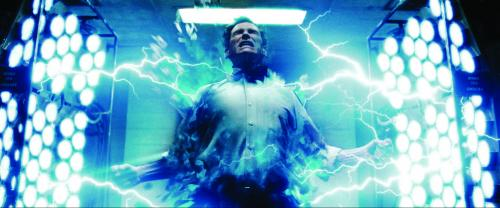 Watchmen - Billy Crudup as scientist Jon Osterman, turned into Dr Manhattan by a lab accident
