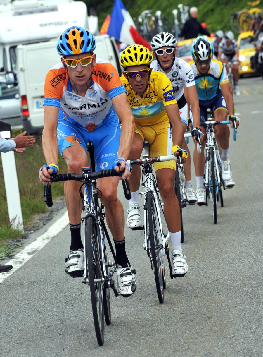 Bradley Wiggins, Tour de France 2009, stage 16