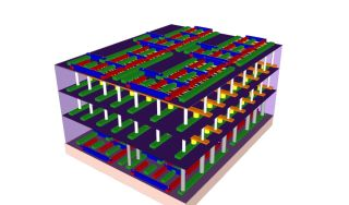 carbon nanotube 3d stacked chip