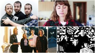 A collage of Australian bands