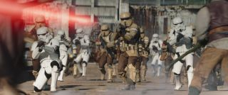 Stormtrooper and Shoretroopers in Lucasfilm's THE MANDALORIAN, season two.