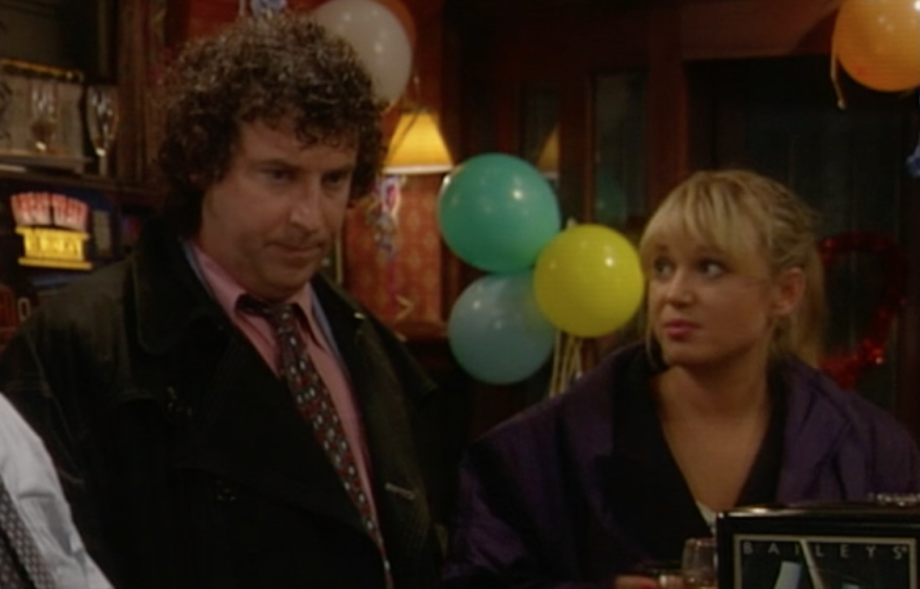 Debbie and Nigel EastEnders