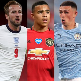 England captain Harry Kane has checked in on Mason Greenwood and Phil Foden