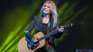 Musician Nancy Wilson performs with Roadcase Royale performs on stage at San Diego County Fair on June 22, 2018 in Del Mar, California