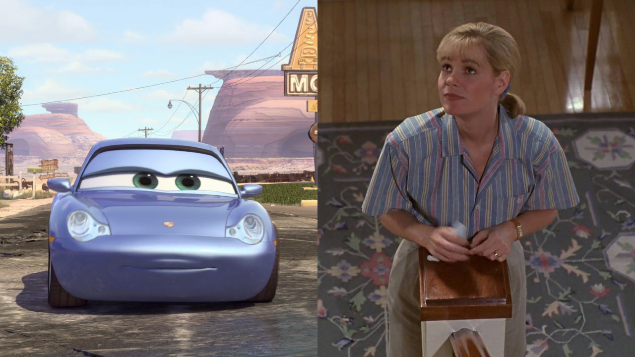 Sally Carrera in Cars; Bonnie Hunt in Beethoven