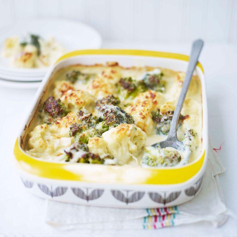Broccoli and Cauliflower Bake recipe-Vegetable recipes-recipe ideas-new recipes-woman and home