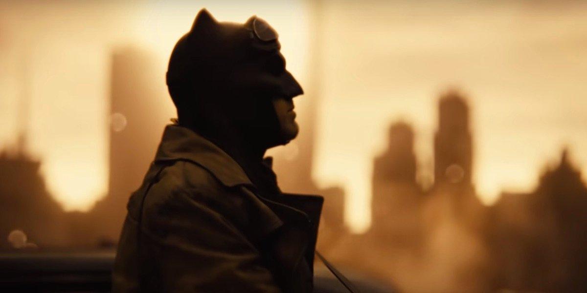 Batman in Zack Snyder's Justice League's Knightmare future