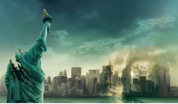 Cloverfield decapitated Lady Liberty and a wrecked New York