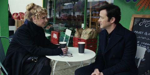 Juno Temple and Joseph Gordon-Levitt in 'Mr. Corman'.