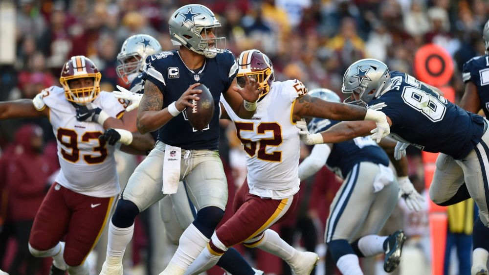 How to watch Cowboys vs Redskins: live stream NFL football today from anywhere
