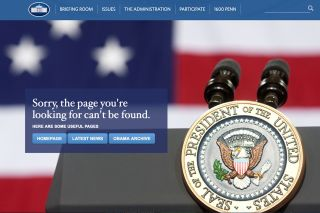 The administration of President Donald Trump has removed what was a climate change action page on the White House website.
