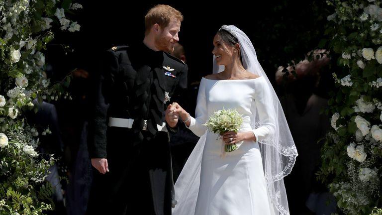 Where did Meghan Markle get her wedding dress