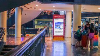 Samsung digital signage at Union Station in Washington, D.C.