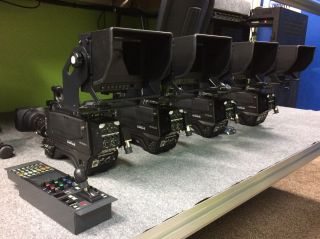 Hitachi EMU Z-HD5000 Cameras.