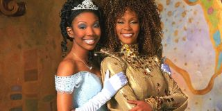 Brandy and Whitney Houston in Rodgers and Hammerstein's Cinderella.
