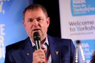 Gary Verity talks about the Tour de Yorkshire