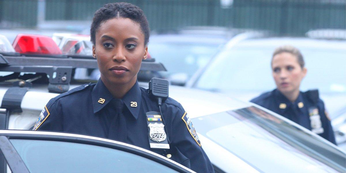 Blue Bloods Yasha Jackson as Maya Thomas CBS