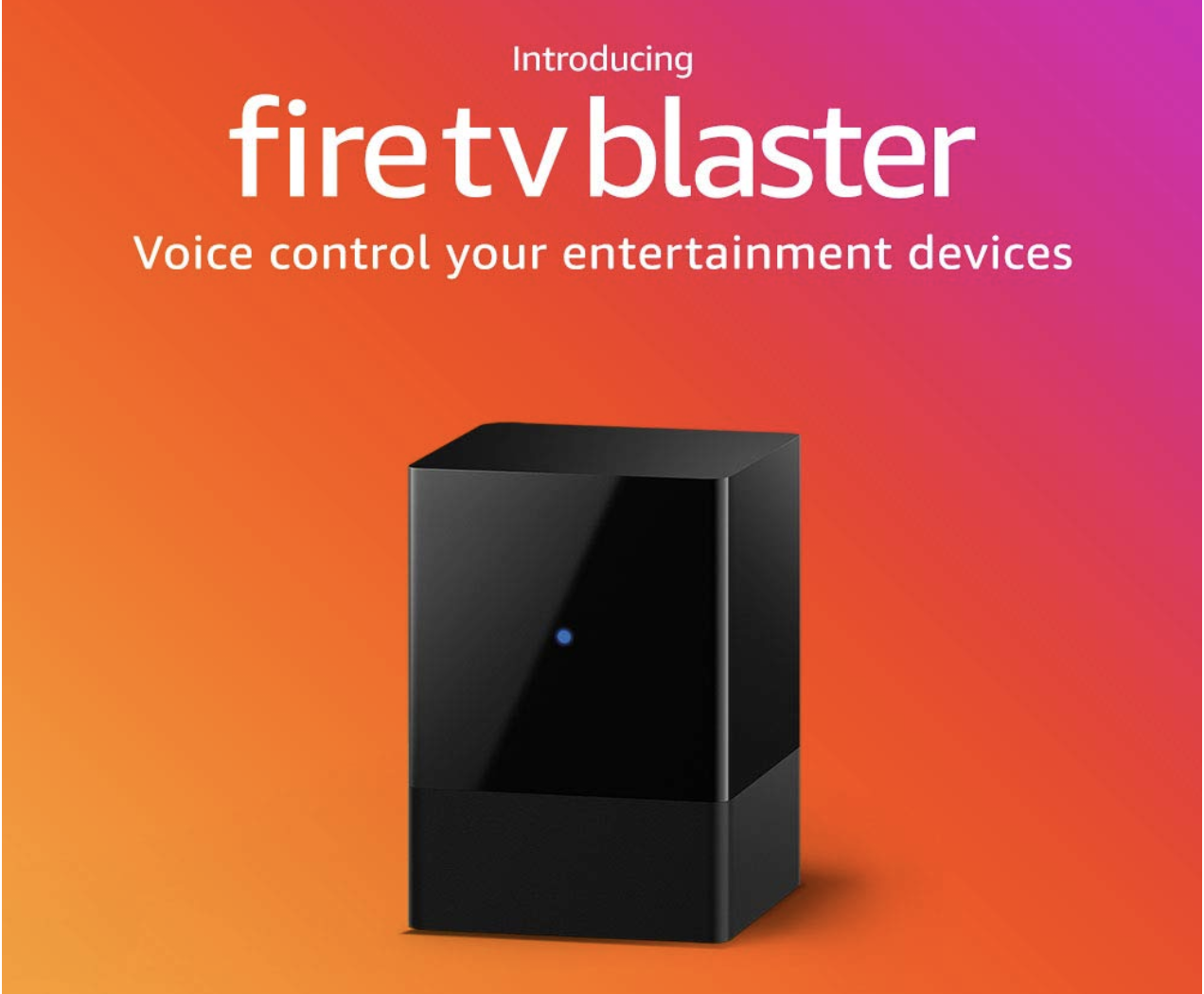 Fire TV Blaster: Amazon's newest addition lets your Echo control your TV