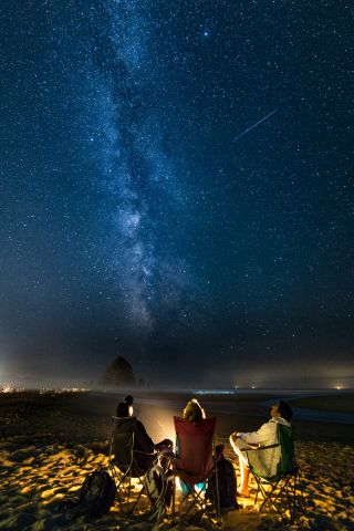Perseids Meteor Shower by Arora