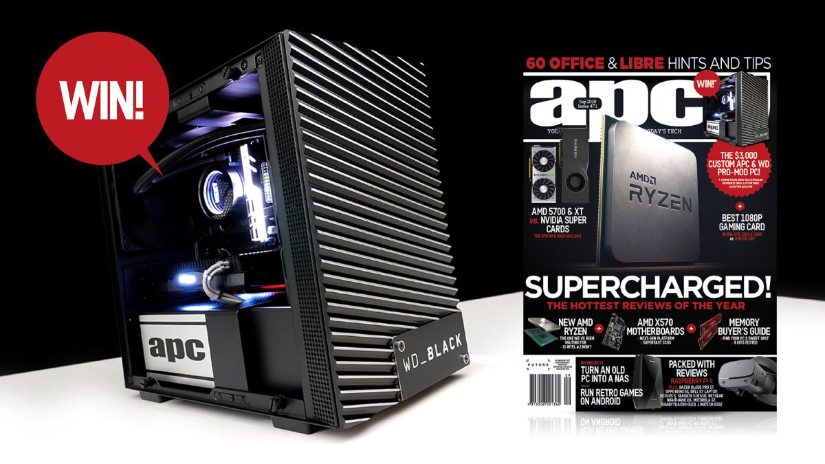 APC's October 2019 issue is on sale now! | TechRadar