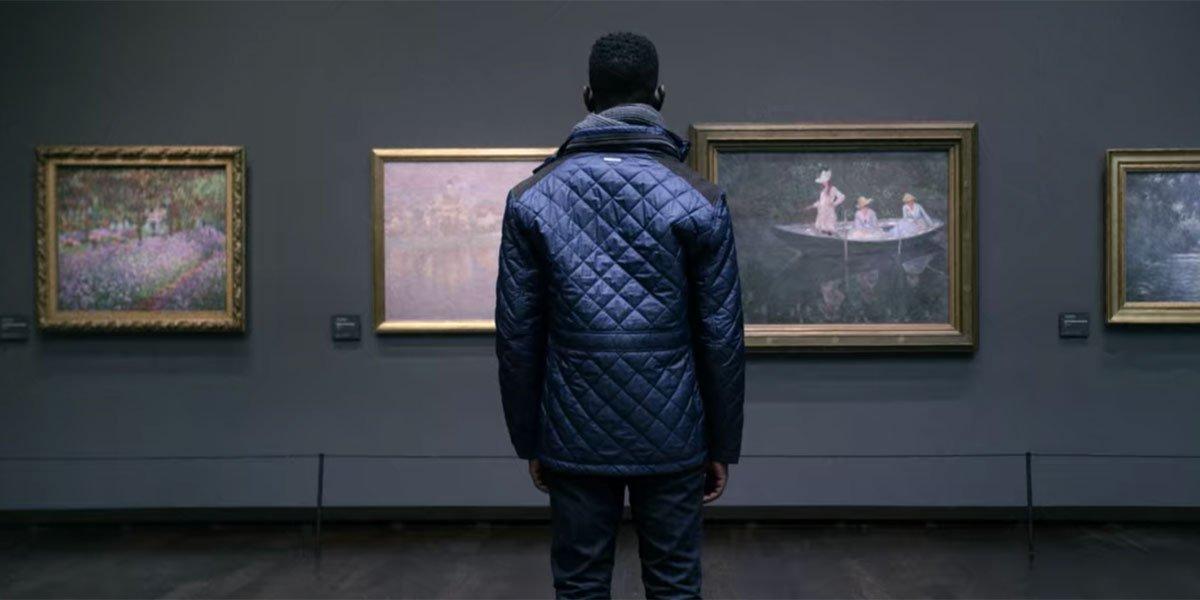 Elijah in Paris in Uncorked on Netflix