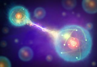 Physicists take steps toward a quantum internet with a new way to link light particles.