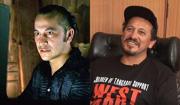 Julian Arahanga then and now