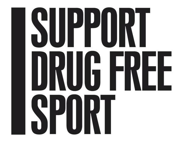 I Support Drug Free Sport logo