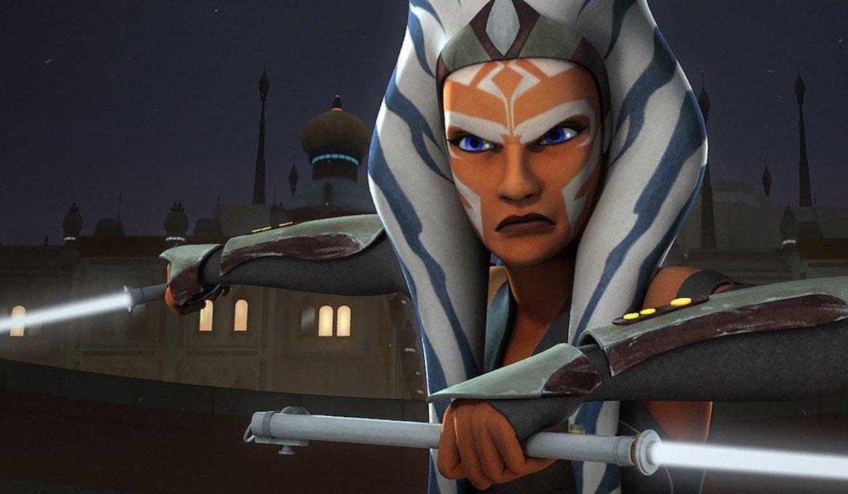 Ahsoka Tano in Star Wars: Rebels