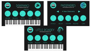 Diskpiano, Little Roadey and Padspheres plugins