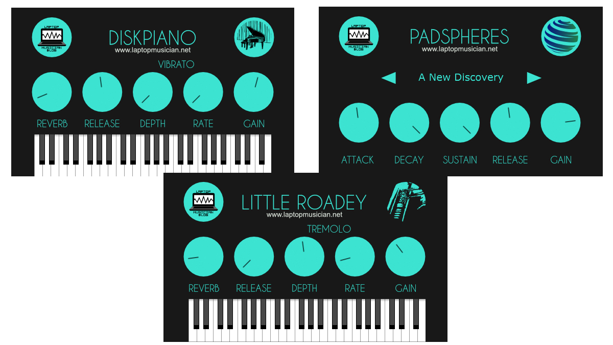 Laptop Musician Blog releases free acoustic piano, electric piano and pad plugins | MusicRadar