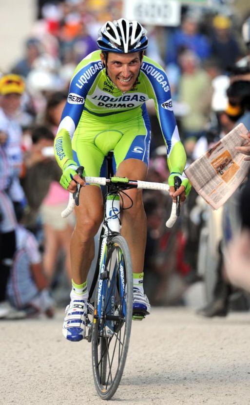Ivan Basso, Giro d'Italia 2010, stage 16 mountain TT