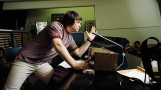 Brian Wilson in the studio making Pet Sounds