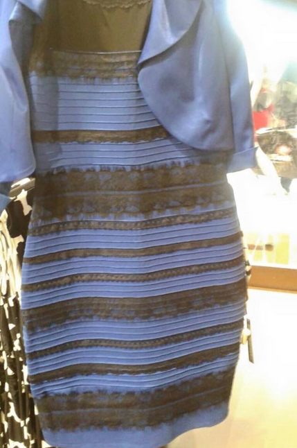 The Dress illusion