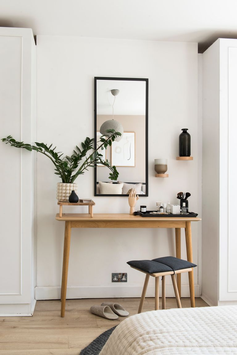 Decorating with Danish-designed pieces, natural materials and lots of tactile textures has put heart and soul into Katie and Russell's stylish home