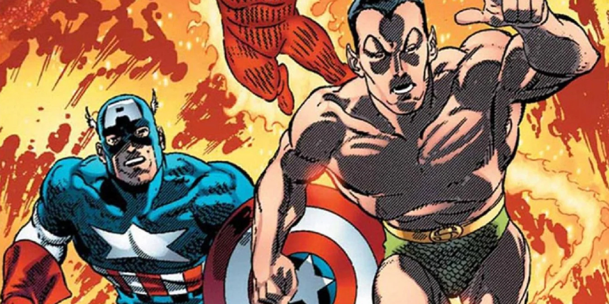 Captain America and Namor