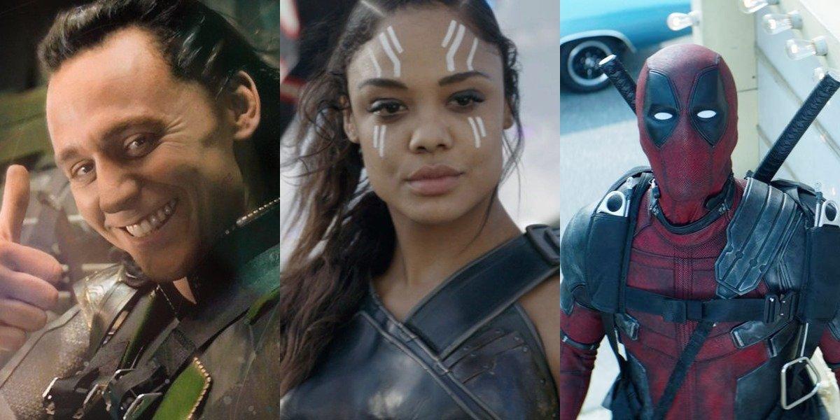 Loki, Valkyrie and Deadpool in Marvel films, LGBTQ+ Marvel characters