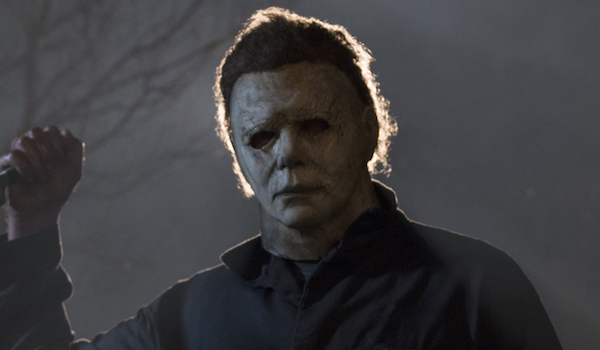 Halloween 2018 Michael Myers Holding A Knife