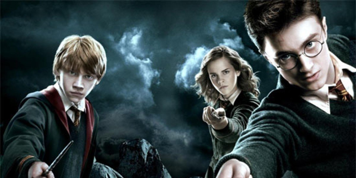 Emma Watson, Rupert Grint, and Daniel Radcliffe in Harry Potter and the Order of the Phoenix