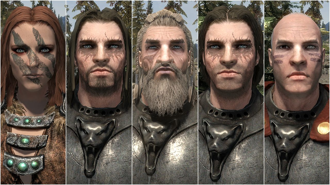 the best skyrim mods: total character makeover