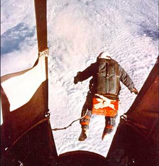 Excelsior III Balloon Gondola Jump