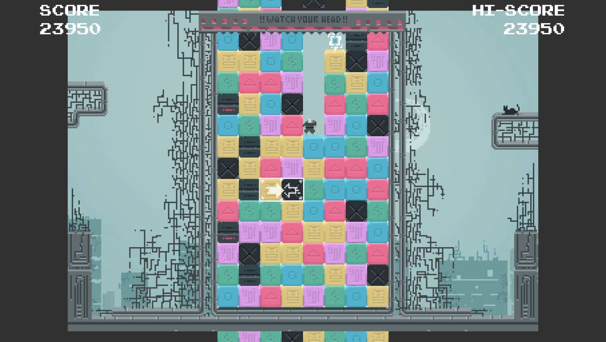 Blocked Up is a hectic match-3 platformer you can tackle for free