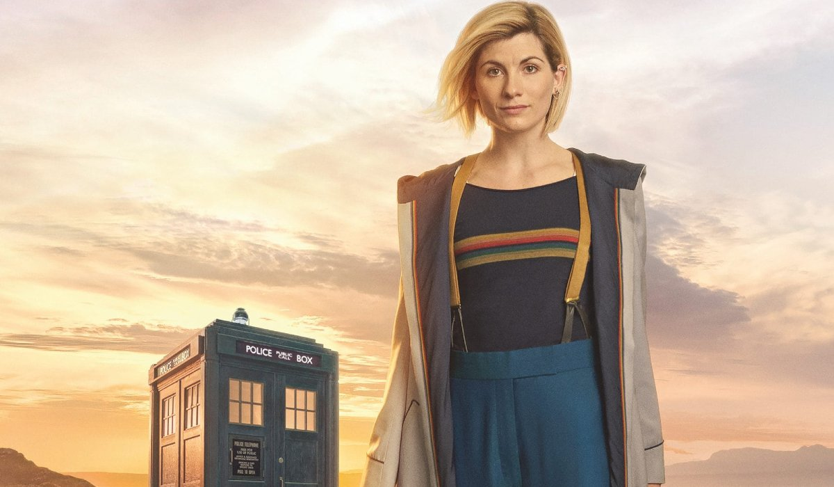 Doctor Who The Thirteenth Doctor and The Tardis