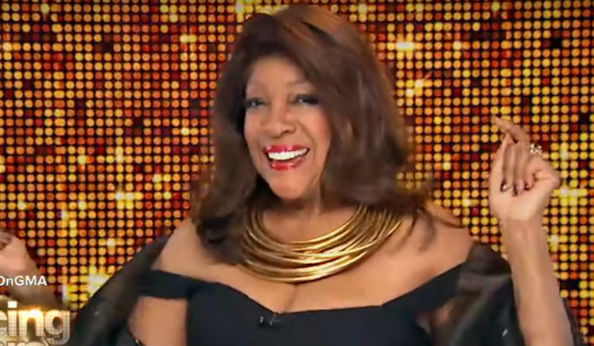 Good Morning America Dancing with the Stars Mary Wilson ABC