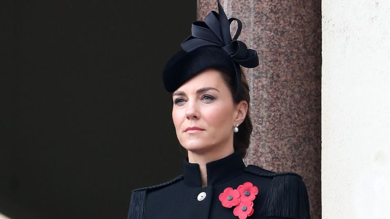 Duchess Catherine on remembrance Sunday
