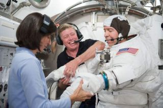 Astronauts to Help Double Space Station Population