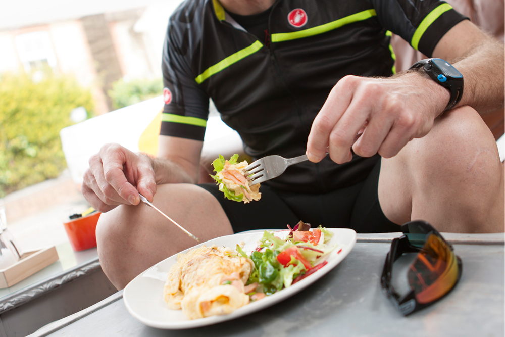 How to eat optimally for cycling as you grow older
