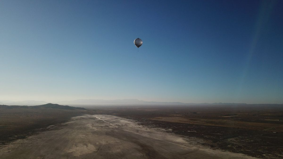 Balloon-lofted instruments detect earthquake, testing possible Venus technology - Space.com