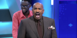 Steve Harvey Has A Hilarious Time Hosting Family Feud Africa In Video Supercut