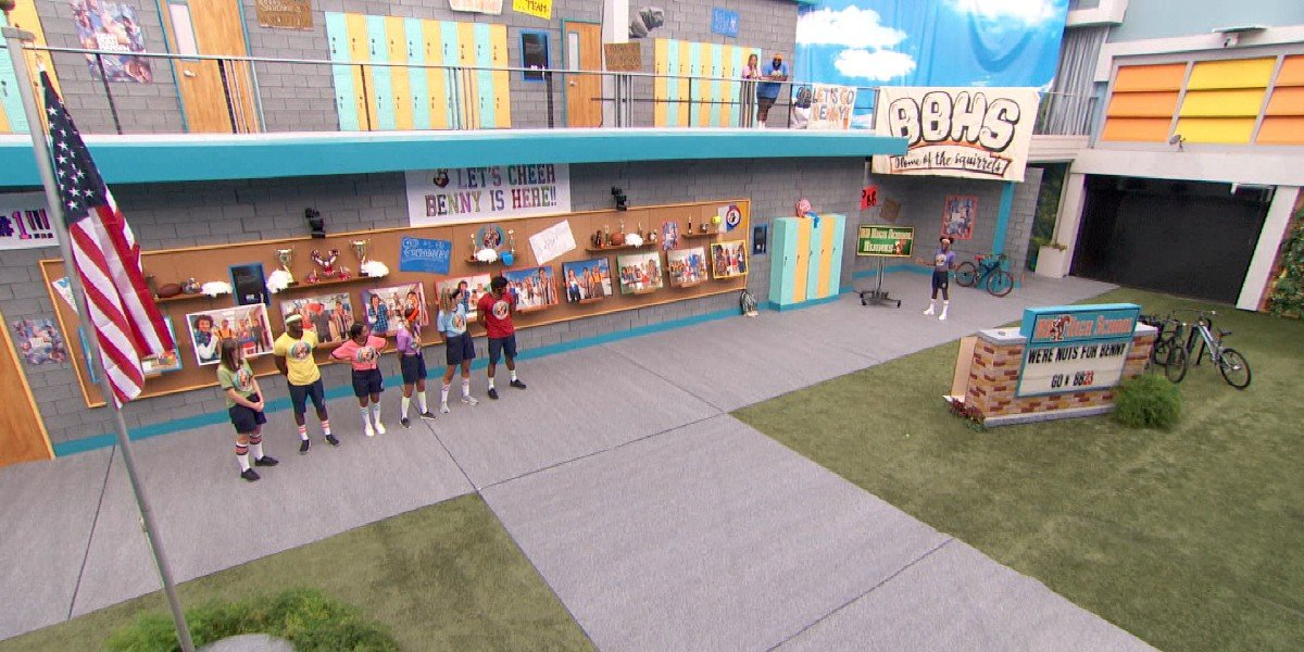 The Big Brother houseguests CBS